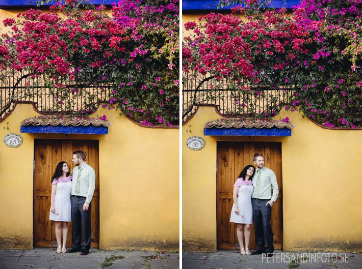 Förlovningsfotografering, parfotografering i Mexico city - engagement photos Mexico